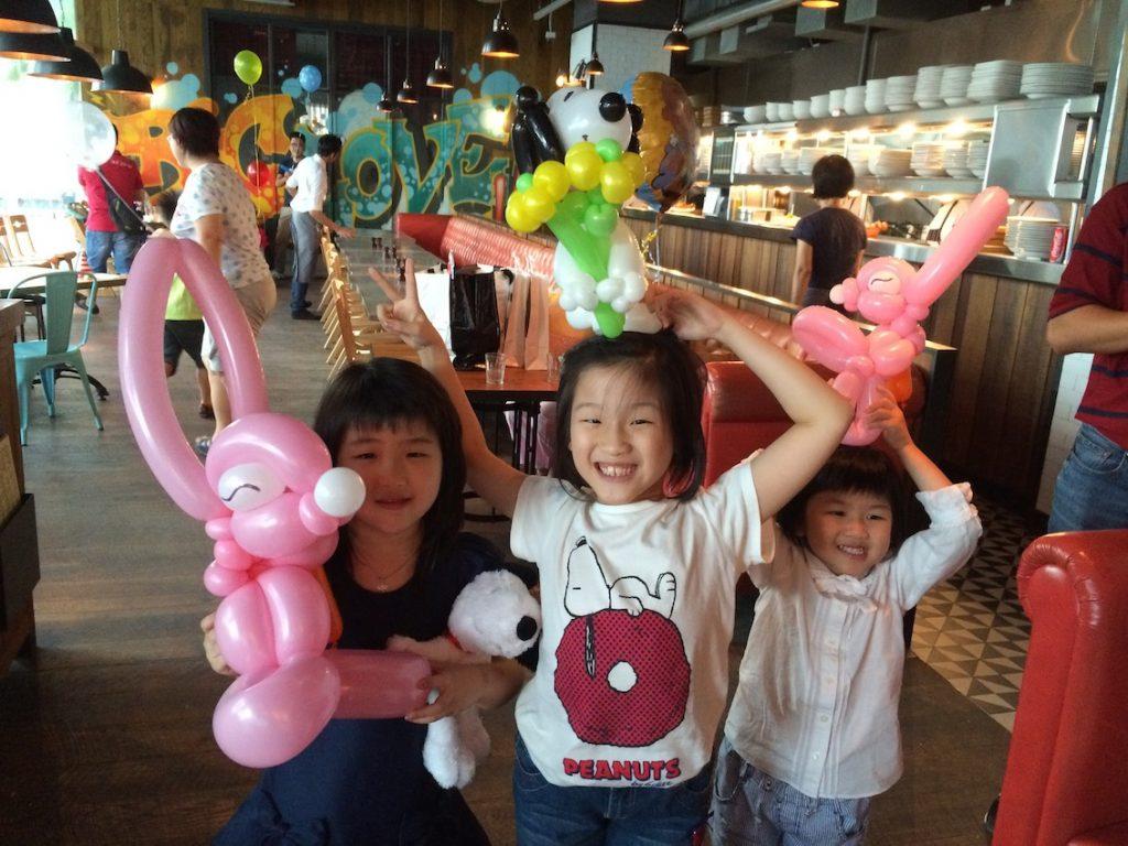 Balloon Sculpting Birthday Party