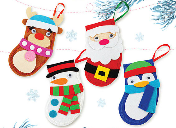 Christmas Socks Craft Singapore