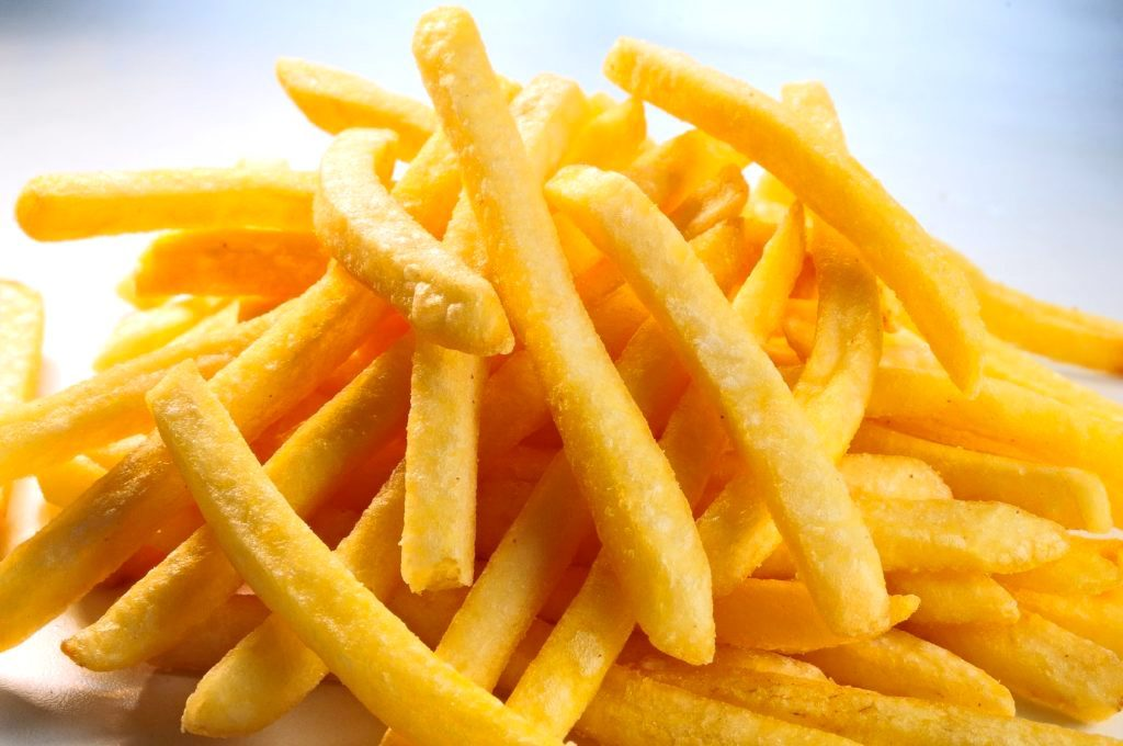 French Fries Live Food Station