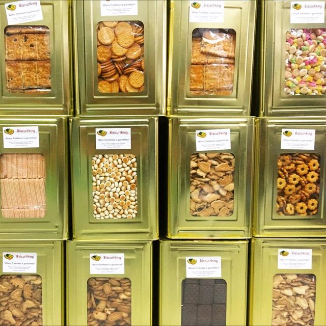Singapore Biscuit Stall Rental