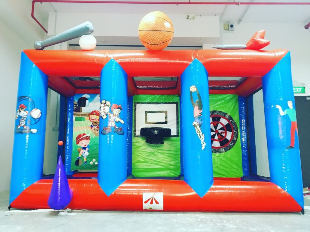 3 in 1 Inflatable Carnival Games