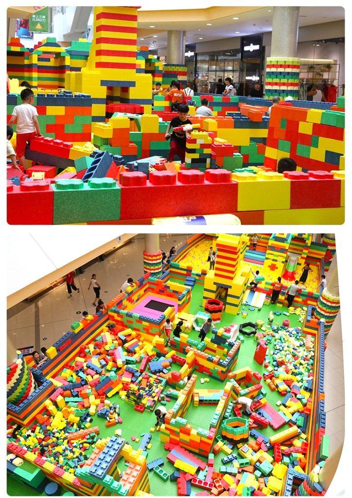 Lego Foam Playground