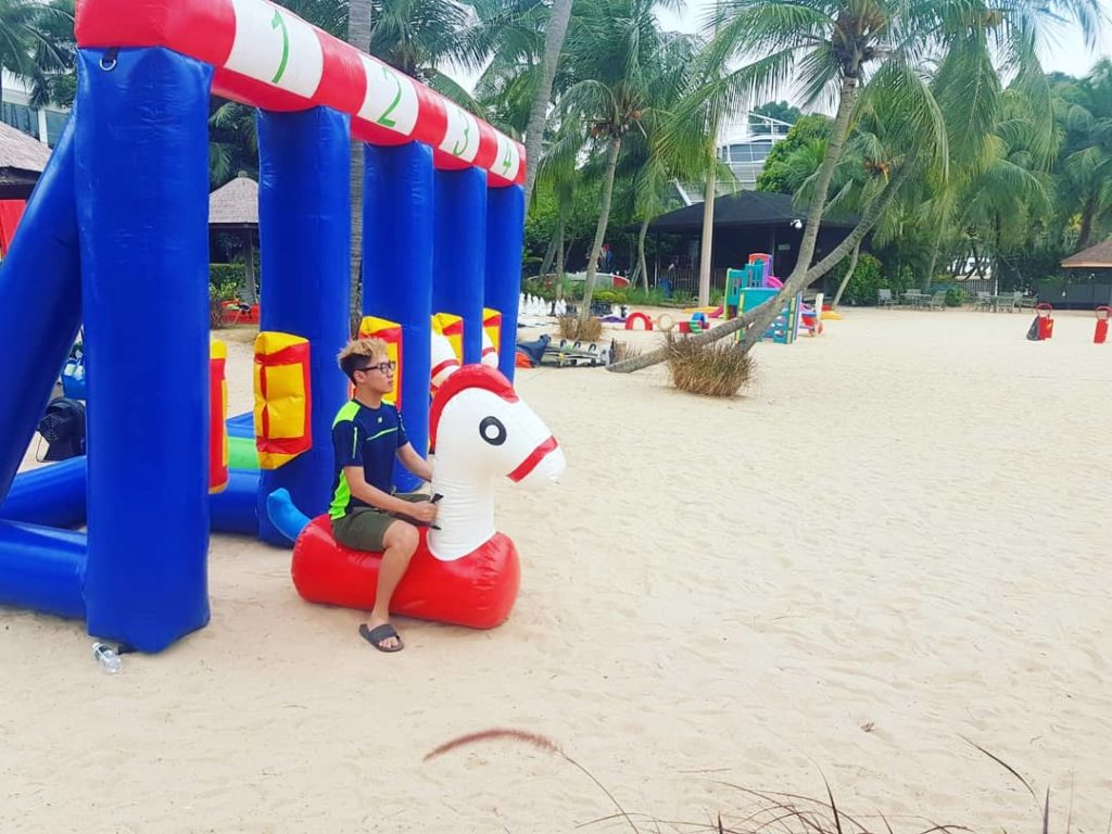 Pony Race Inflatable Game