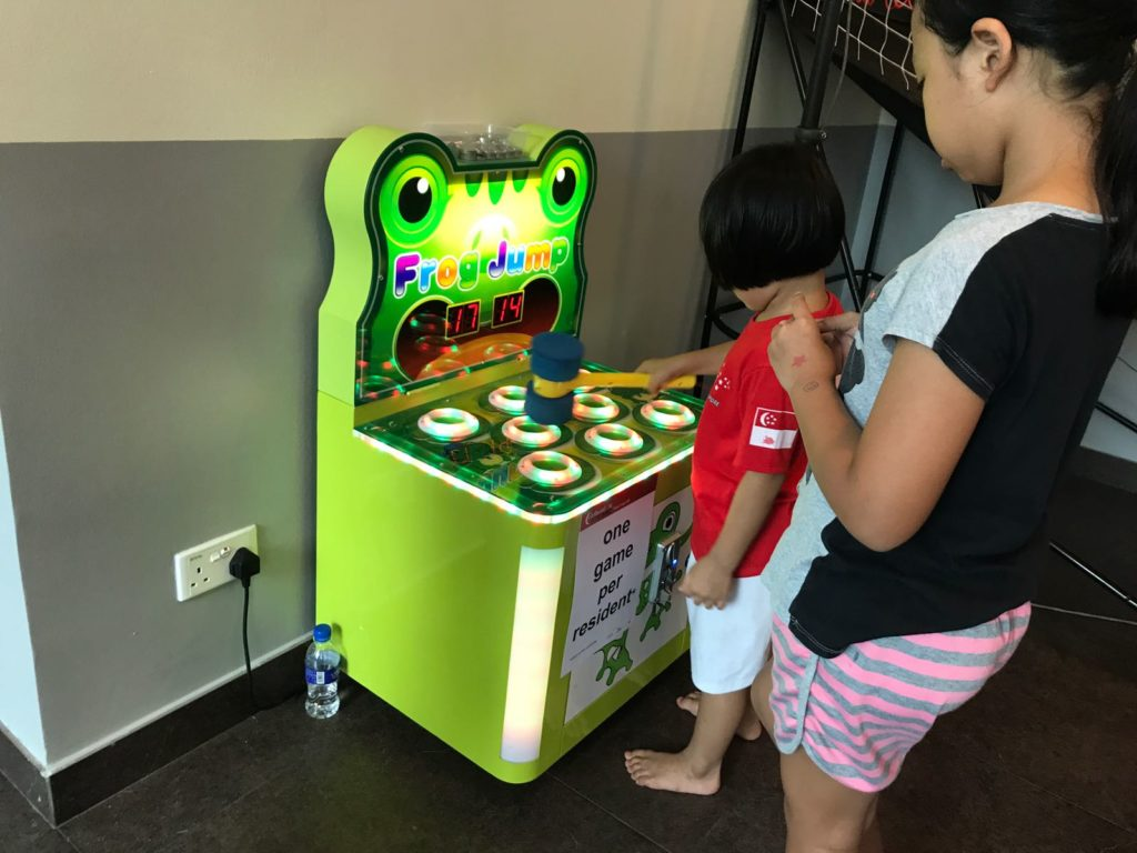 Whack a Frog Arcade Machine for rent