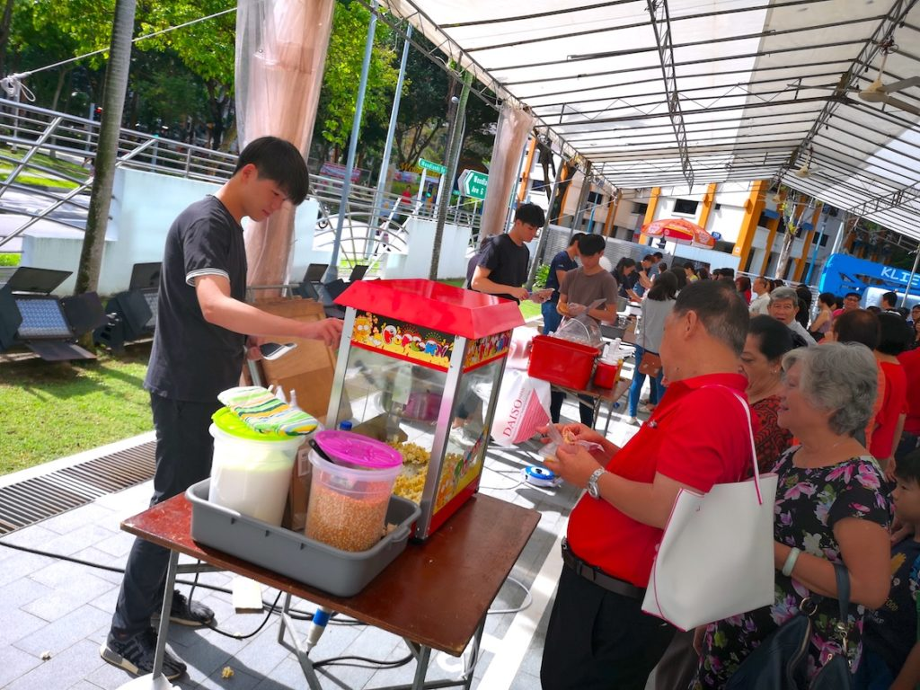 Carnival Live Food Stations