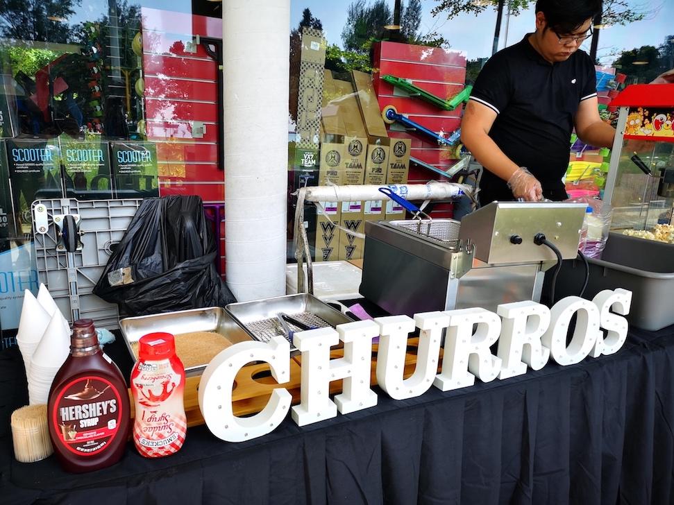 Churros Live Food Station