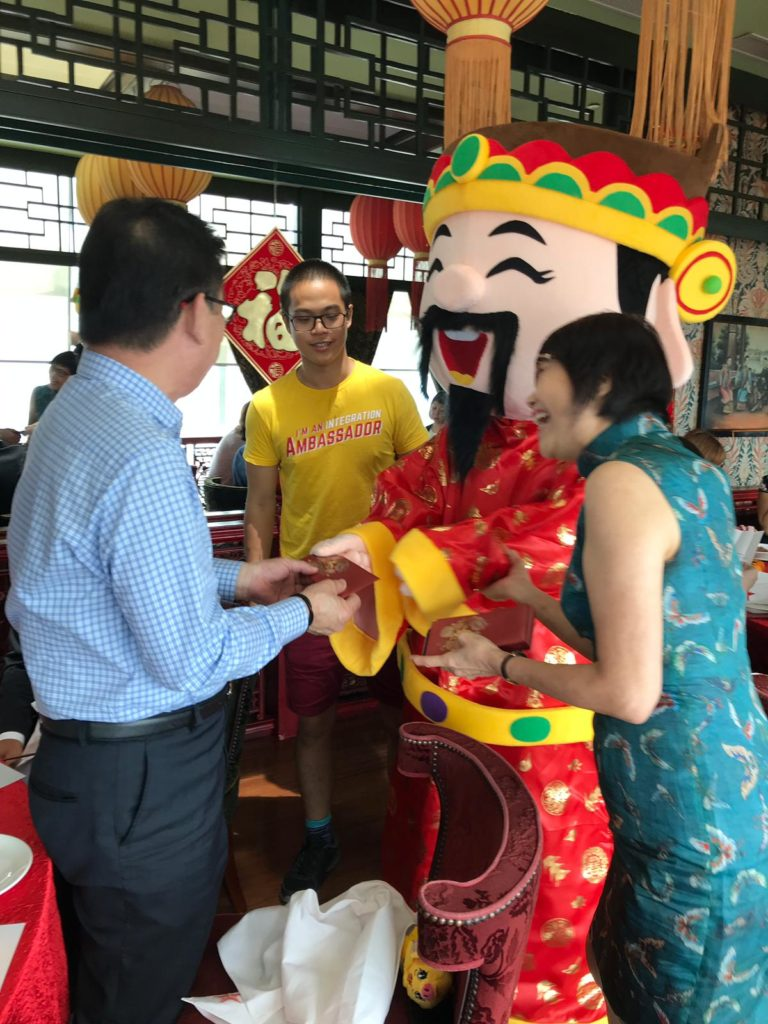 Hire God of Fortune Singapore
