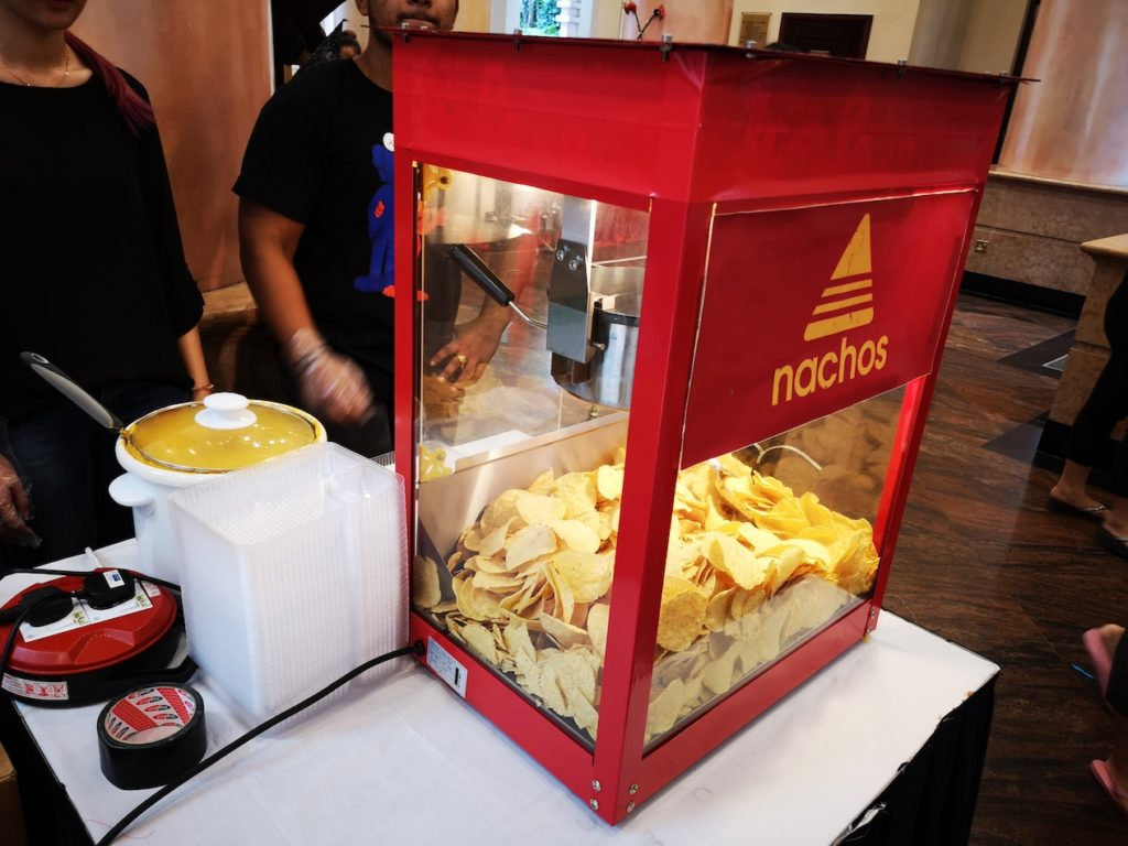Live Nachos Food Station Singapore