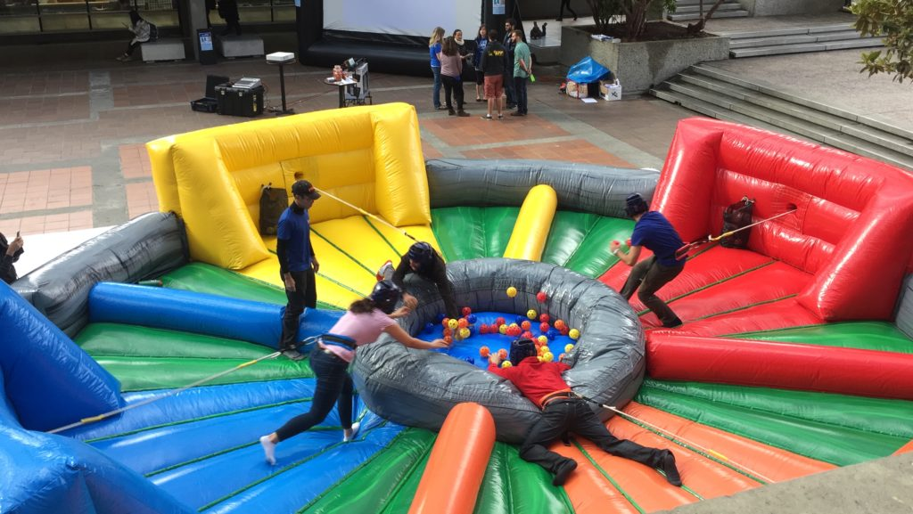 Hungry Hippo Inflatable Game Rental