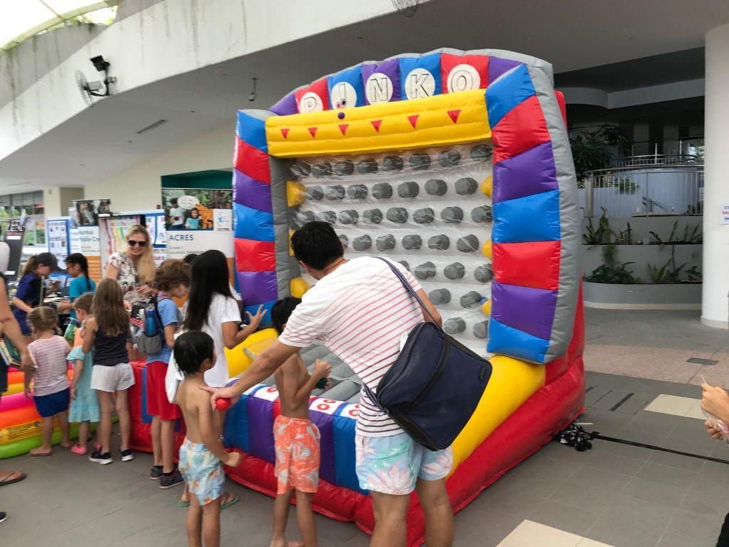 Inflatable Plinko Game Rental Singapore