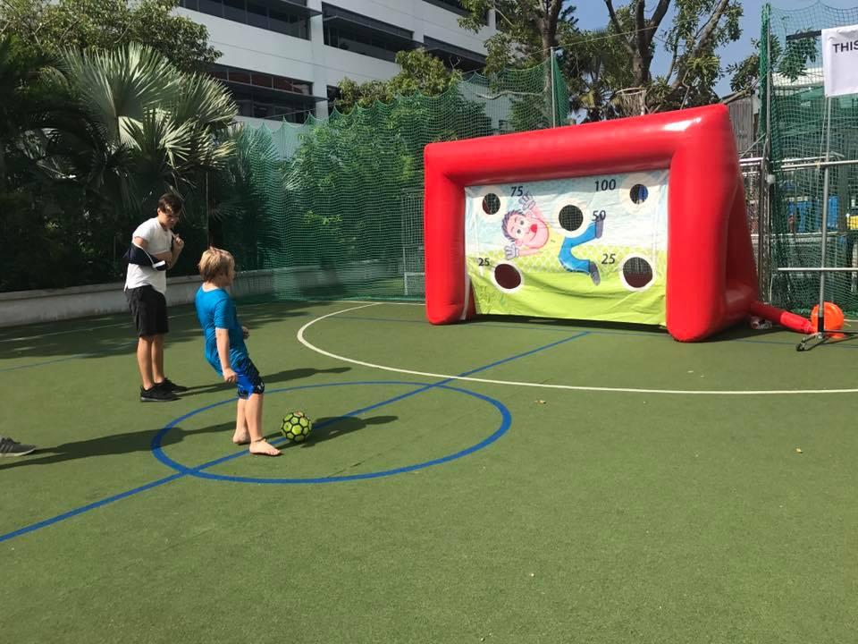 Inflatable Soccer Shootout Rental Singapore