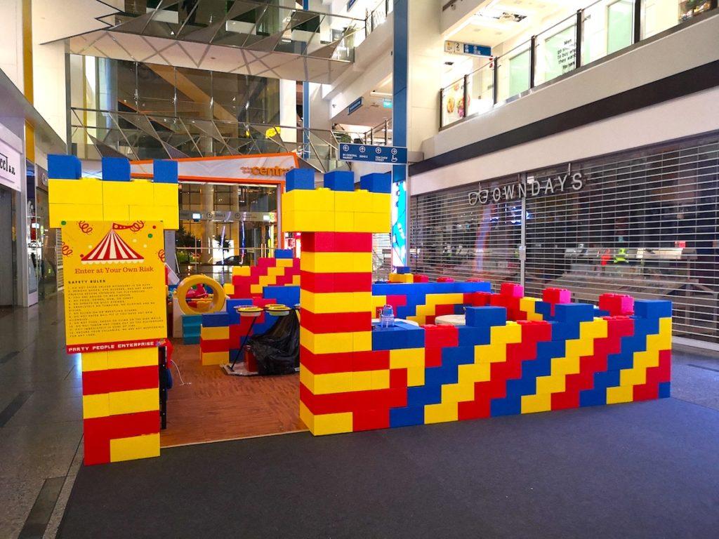 Mega Lego Blocks Playground for Rent