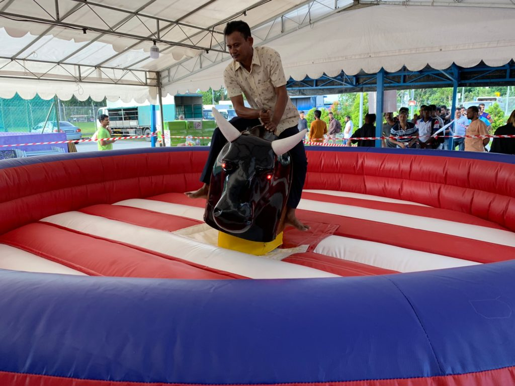 Rodeobull Inflatable Game Rental Singapore