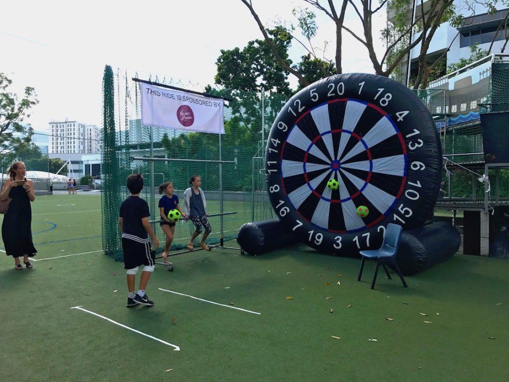 Soccer Dart Inflatable Game Rental Singapore