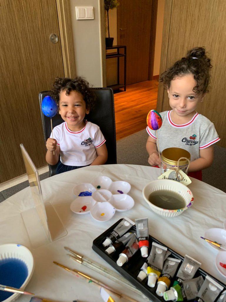 Kids Easter Egg Painting Singapore