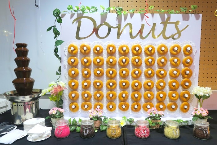 Donut Wall Catering Singapore