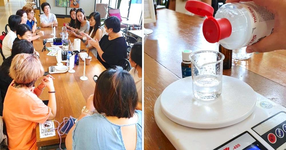 DIY Hand Sanitiser Workshop in Singapore