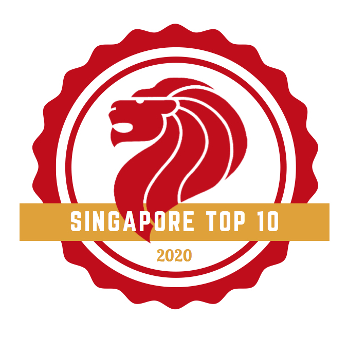 Singapore top 10 Logo