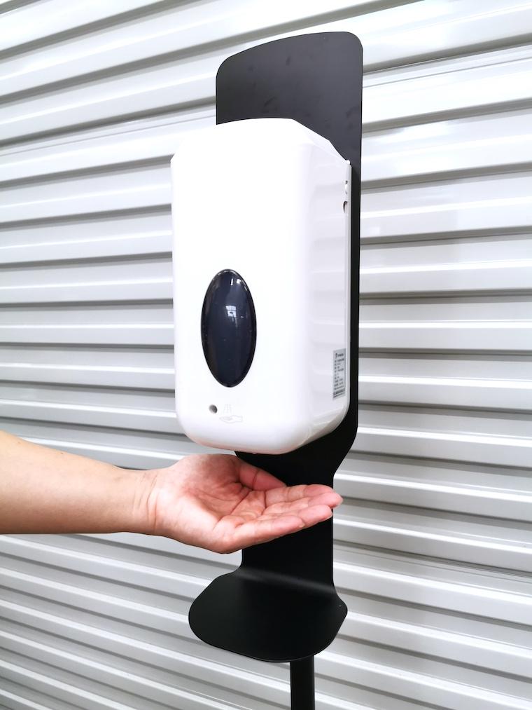 Auto Hand Sanitizer Dispenser Stand