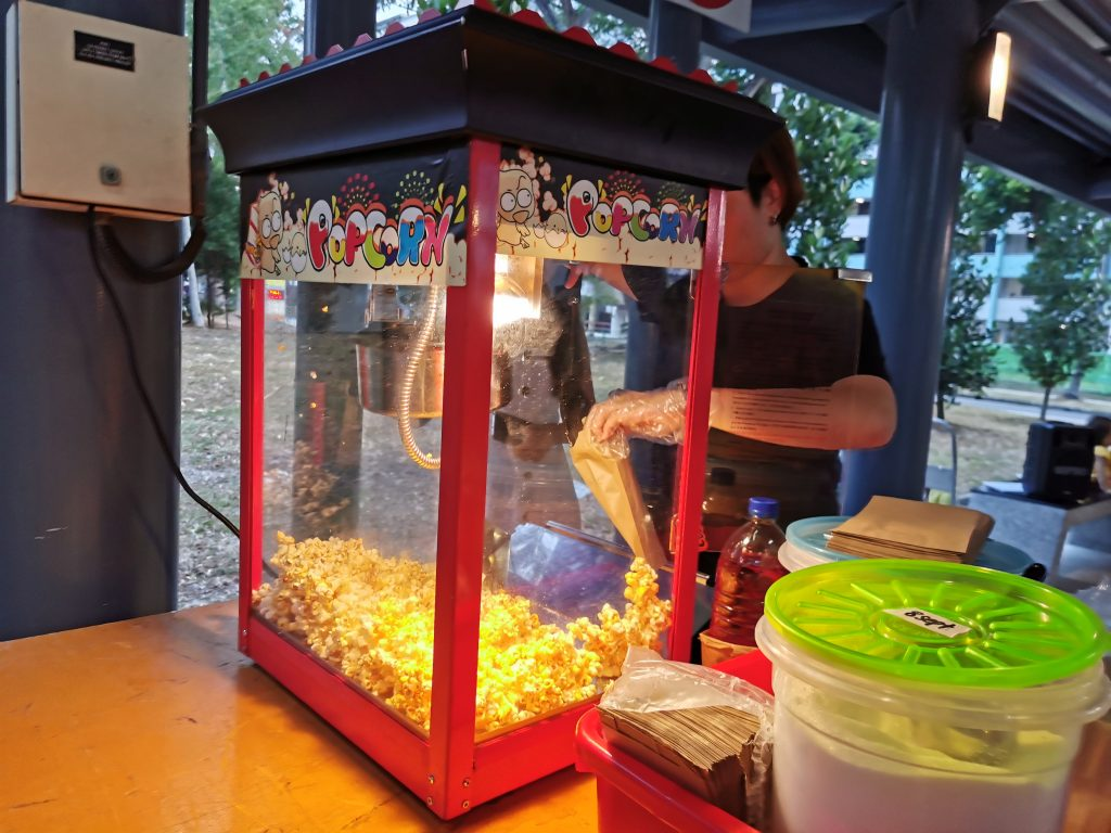 Live Pop Corn Machine for Hire