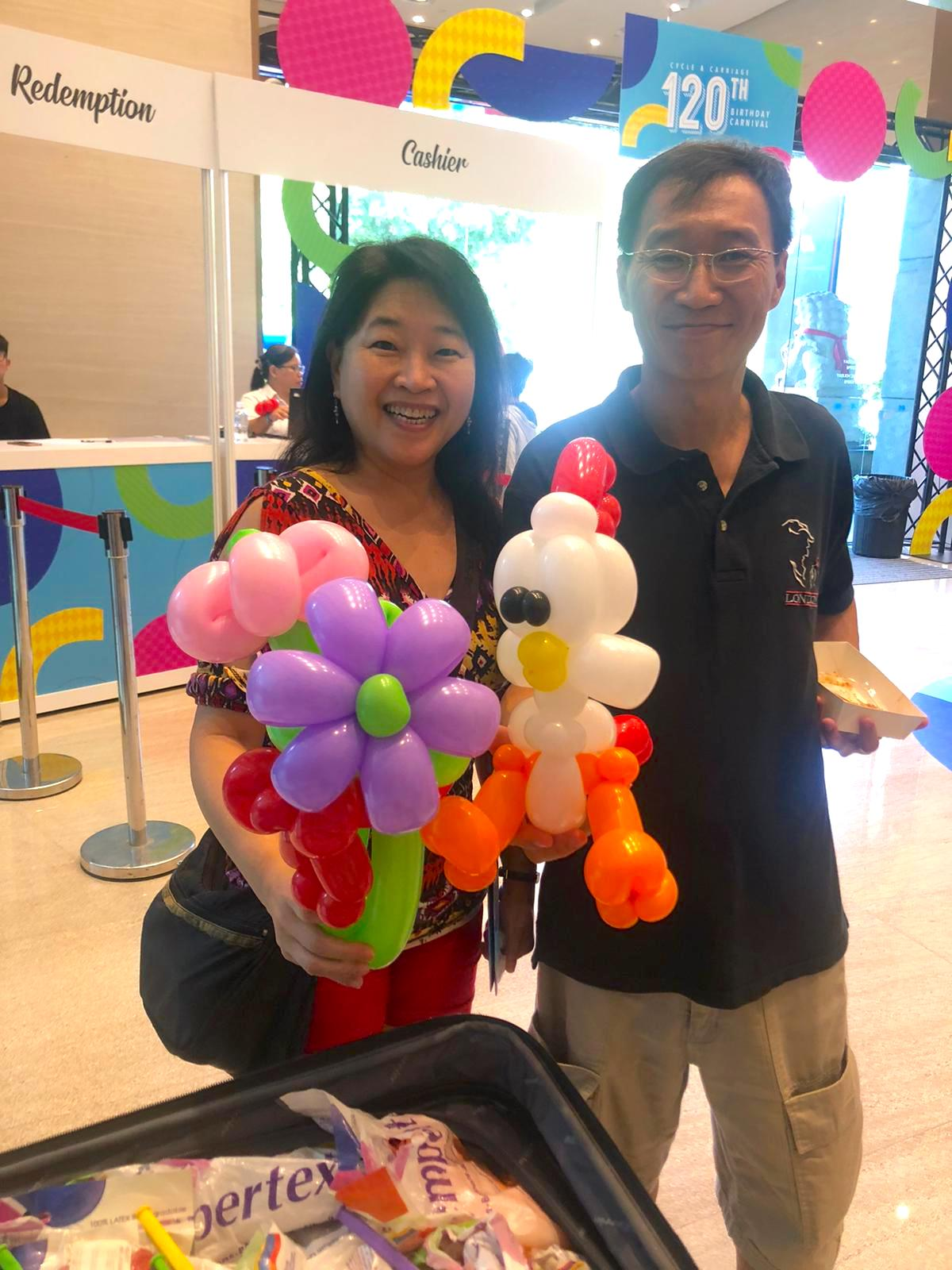 balloon sculpting for hire singapore