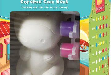 Ceramic Coin Bank Painting Singapore