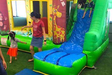 Cheap Safari Bouncy Castle