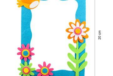 DIY Mirror Frame acitvity for Kids Party Singapore