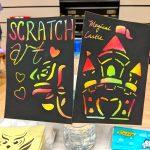 Scratch Art Fringe Activity