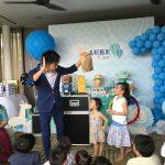 Children birthday party magic show