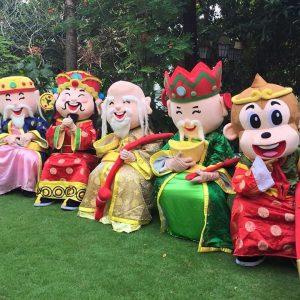 Chinese New Year Mascot Rental
