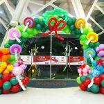 Christmas Balloon Arch Deocration Safra