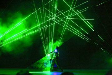 Laser Show Entertainment Singapore