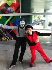 Mine Artist and Juggler