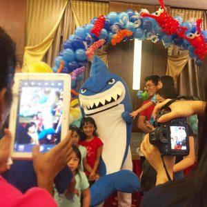 Shark Mascot for Rent