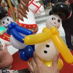 Small Balloon Snowman Sculpture