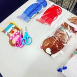 Christmas Craft session for birthday party