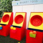 Basket Ball Toss Game Rental