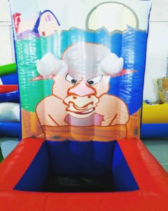 Bull Ring Toss Inflatable Game