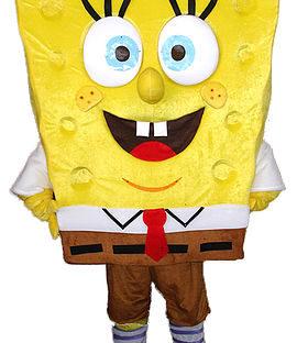 Cartoon Sponge Mascot Costume Rental