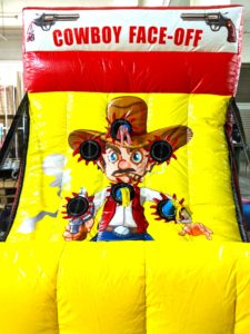 Cowboy Face off Carnival Game Stall