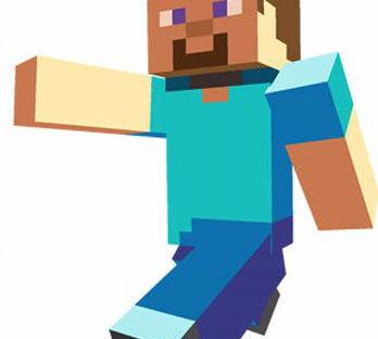 Minecrafter Mascot Costume Rental