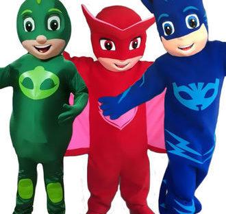 PJ Mask inspired Mascot Costume Rental