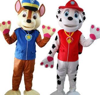 Paw Patrol Inspired Mascot Costume Rental