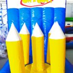 Pencil Ring Toss Inflatable Game