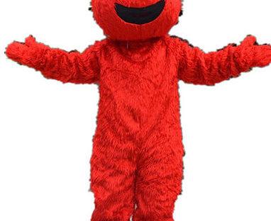 Red Monster Mascot Costume Rental
