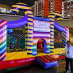 Candy Land Bouncy Castle Rental