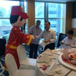Roving God of Fortune in Singapore