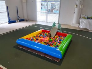 Small Ball Pit with Slide