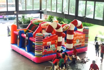 Candy House Bouncy Castle Rental Singapore